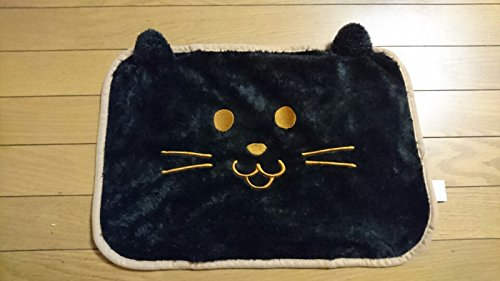 Daiso Kawaii Dier Kat kussensloop Kleur Zwart Maat: 40x60 cm, uit Japan