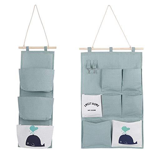 MaoXinTek Hängender Organizer 2 Stil Wand Hängetasche Hängeaufbewahrung Aufbewahrungstasche für Kinderzimmer Badezimmer Schlafzimmer Büro