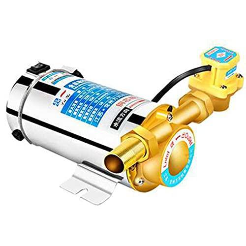 150W Bomba de refuerzo Mute para el hogar para la tubería de agua de grifo/calentador con interruptor de flujo automático, energía solar bomba de agua fría y caliente (Voltage : 150W)