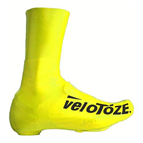 velotoze Toze deckt Schuhe Unisex, uni, Toze, gelb(Viz/Jaune), M : 40,5 - 42,5