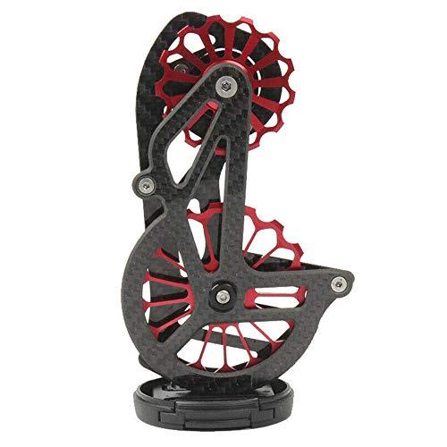 17T Trasero Bicicleta Guía Rueda Cuerpo Aleación Aluminio