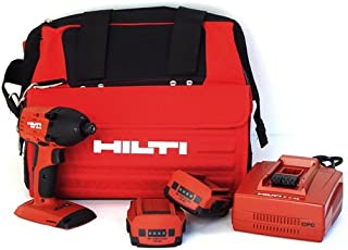 Hilti 03482619 SID 18-A CPC 18-volt Cordless Compact Impact Screwdriver with Soft Tool Bag and 1/4-Inch Hexagon Snap Chuck