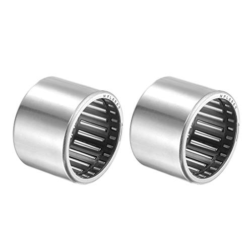 uxcell Needle Roller Bearings 35mm Bore 42mm OD 30mm Width Chrome Steel One Way Bearing 2pcs