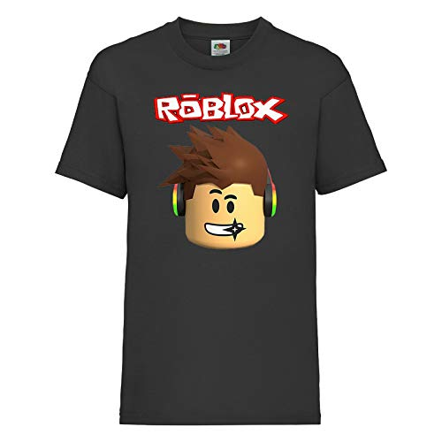 Roblox Face Kids Online Game Characters Boys Girls Birthday Unisex t Shirt Black