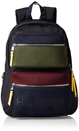 Tommy Hilfiger Bold Nylon CB Backpack, Borse Uomo, Nero (Multi), 1x1x1 centimeters (W x H x L)