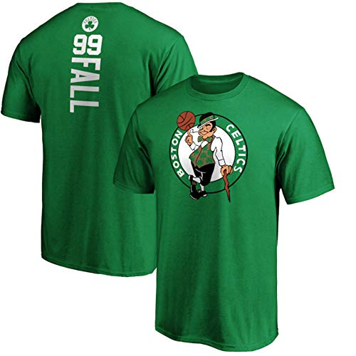 SHR-GCHAO Baloncesto De La Camiseta De Los Hombres, NBA Boston Celtics # 99 Tacko Manga Corta Floja Ropa Camiseta del Entrenamiento, Fitness Sports Superior Respirable Fall,XL(175~180cm)