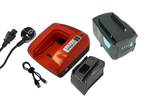 PowerSmart® Bateria de repuesto para Hilti SF 22-A, SIW 22T-A, WSR 22-A, B22/3.3, SCW 22-A, SFH 22-A,TE 4-A22, B22/2.6 (ion de litio, 21,60 V, 3000 mAh)