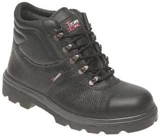 Toesavers 151B S1P SRC Black Chelsea Dealer Steel Toe Cap Safety Boots Work Boot