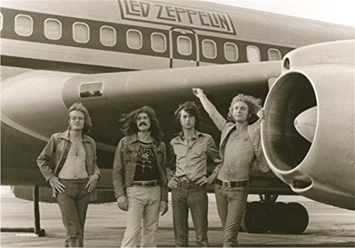 Led Zeppelin - Airplane Flagge