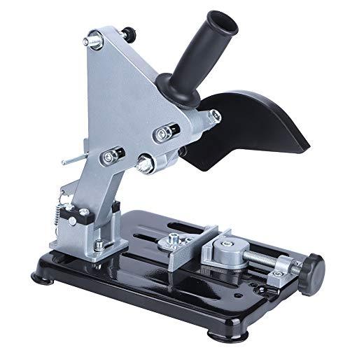 Supporto per smerigliatrice angolare,supporto per taglierina multi-angolo regolabile in alluminio multifunzionale,supporto per taglierina con supporto per smerigliatrice angolare stabile di precisione