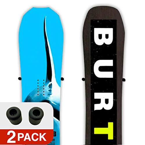 StoreYourBoard Cinch Floating Snowboard Display Mount, Wall Storage, 2 Pack