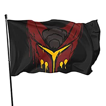 Ratchet And Clank Deadlocked Red Flag Personality Decorative Banner Funny Garden Flag Suitable For Indoor And Outdoor Garden Courtyard