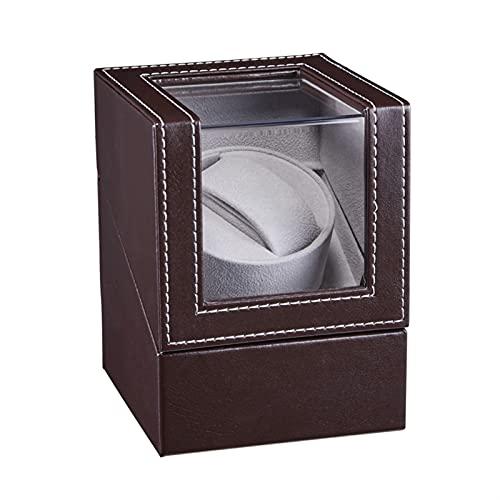 RVAXQ Caja de joyería Banderero Tablero de Madera Mostrar joyería Joyería Caja de Almacenamiento Caja de Estuche Holder Motor Shaker Watch Mover (Color : 2, Size : A)