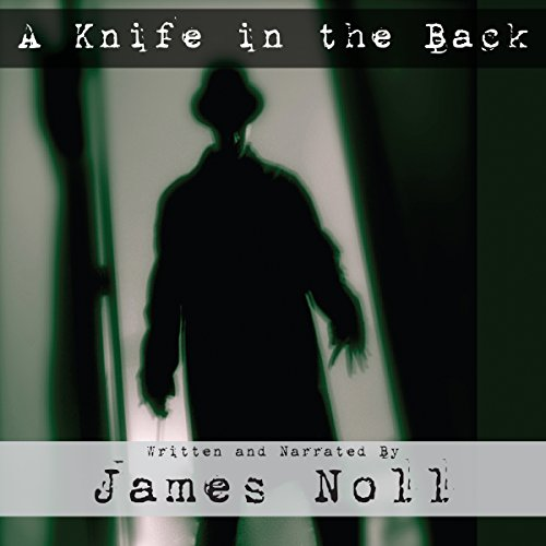 A Knife in the Back audiobook cover art