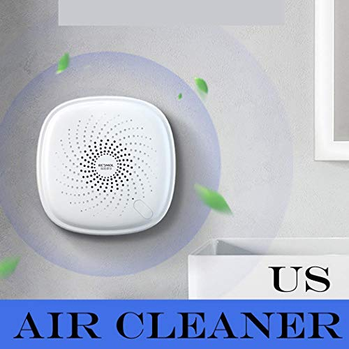 Best Price HOTUEEN Household Indoor Deodorization Disinfection Sterilizing Air Purifier Electrostati...