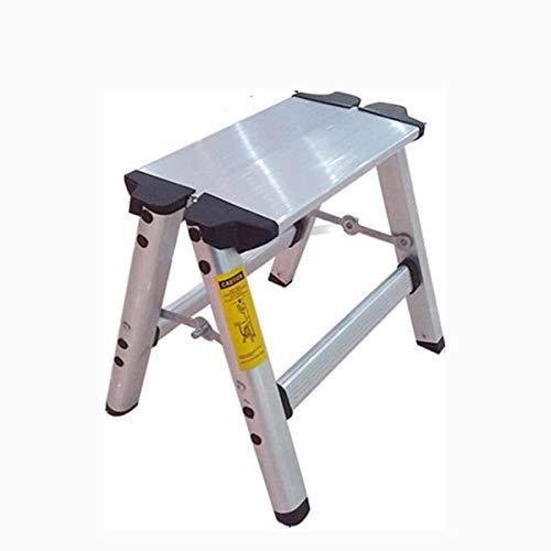 PLKZ Huishoudelijke Inklapbare Ladder, Aluminium Dikker (36 * 33 * 15cm)