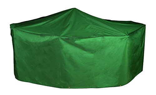Bosmere Master Range Rectangular Patio Set Cover-4/6 seat, Green, 210x110x80 cm