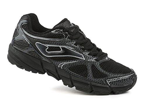 Joma R. VITALY 601 Running Herren Laufschuhe, Größe:43;Farbe:schwarz