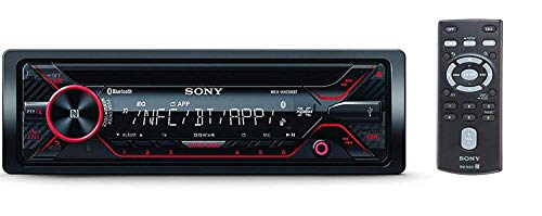 Sony MEX-N4200BT Single-Din in-Dash Built-in Bluetooth CD / MP3, AM/FM Front USB, Auxiliary,...