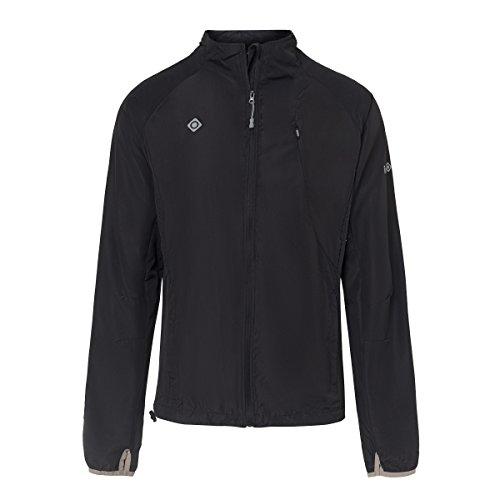 IZAS SIDNEY Veste Imperméable pour courir Homme Noir FR: XL (Taille Fabricant: XL)