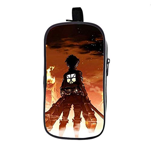 bgdo.cccc Attack on Titan Backpack School Bags for Teenagers Boys Girls Book Bags Laptop Backpack Travel Rucksack,Pencil case 2