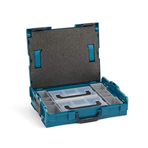 Bosch Sortimo Werkzeugkoffer-Set • L-Boxx 102 • bestückt mit Ordnungssystem Insetboxen-Set Mini