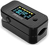 Best Pulse Oximeters - Santamedical Dual Color OLED Pulse Oximeter Fingertip, Blood Review