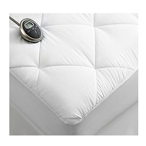 Sunbeam Premium Luxury Quilted Electric Heated Mattress Pad Full Size