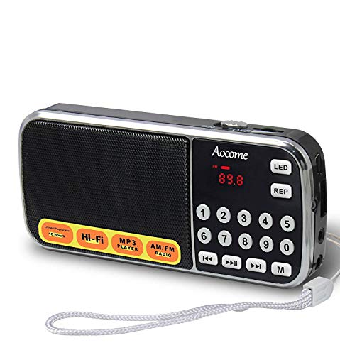 Mini Radio Portable AM/FM - Aoco...