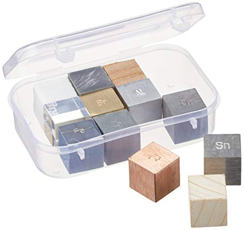 Science2Education EDU663A Cube Set for Density (Pack of 12)