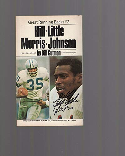 Floyd Little Hand Signed Great Running Backs Paper Back Book+coa Denver Broncos - NFL Autographed Miscellaneous Items