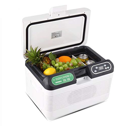 GJHBFUK Mini Nevera 12L Caliente Frío Fresco Eléctrico Portable Caja del Compresor del Congelador De Refrigerador del Hogar del Coche De Doble Finalidad De Insulina Refrigeración