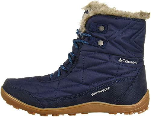 Columbia Women's Minx Shorty III Snow Boot, Collegiate Navy, deep Ocean, 5 Regular US