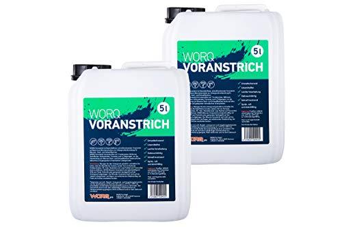 10 Liter Worq Bitumen Voranstrich - Bitumen Anstrich, Bitumen Grundierung, Schweißbahn Grundierung