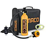 USUGER S400+ Scuba Diving Tank Equipment, Mini Scuba Tank Diving Tank Mini Scuba Tank Scuba Cylinder with 15-21 Minutes Diving Oxygen Tank with Pump Breath Underwater Device