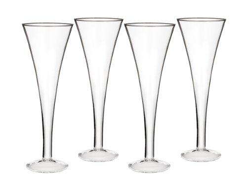 Waterford Marquis Lot de 4 flûtes à Champagne Transparent