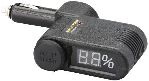 """Unitec 77096 KFZ-Batteriew""""chter, mit 12 Volt Kupplung, Black, 0"""