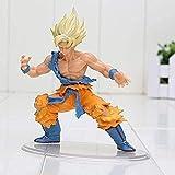 Figuras de Anime Dragonball Dragon Ball Z Kai Styling Figurine Super Saiyan Son Goku Gokou Anime Mod...
