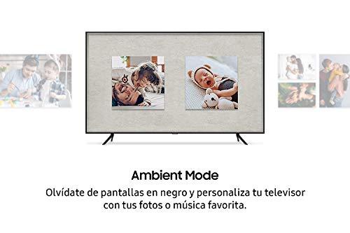 """Samsung QLED 4K 2020 55Q60T - Smart TV de 55"""" con Resolución 4K UHD, con Alexa Integrada, Inteligencia Artificial 4K Wide Viewing Angle, Sonido Inteligente, One Remote Control miniatura"""
