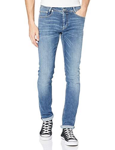 MAC Jeans Herren Stan Jeans, H343 Authentic wash Midblue, 34/32