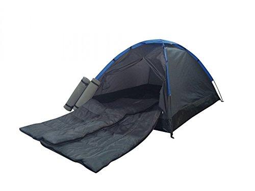 Best Sporting tent FESTIVAL 205 x 150 x 105 cm, 2-persoons zwart/blauw