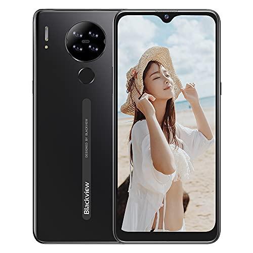Blackview A80スマートフォン本体6.21インチ ディスプレイスマートフォン4G 13MP+5MPカメラ4200mAhバッテリー16GB ROM simフリー スマホ 顔認証 指紋認証 技適認証済 1 付き (ブラック)