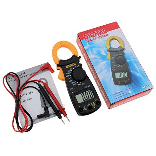 Qintaiourty DT-3266L - Multímetro Digital (600 A, CA/CC, voltímetro/ohmios)