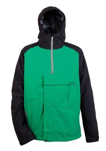 Nitro Snowboards Herren Jacke Funtime II, Green/Black, L, 1121-872970_80