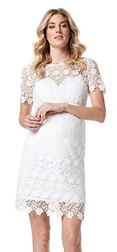 ESPRIT Maternity Damen Umstandskleid R84273 Brautkleid Hochzeitskleid (44, Offwhite (110))