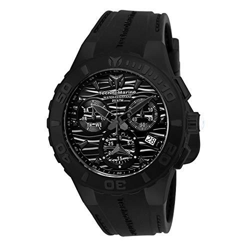 TechnoMarine Cruise Reloj de Hombre Cuarzo Suizo Correa de Silicona TM-115082