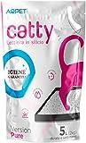 Funhobby Italia Srl 12 Confezioni Lettiera al silicio silice per Gatti Gatto Catty Sabbia Assorbente 5lt - 60 Litri