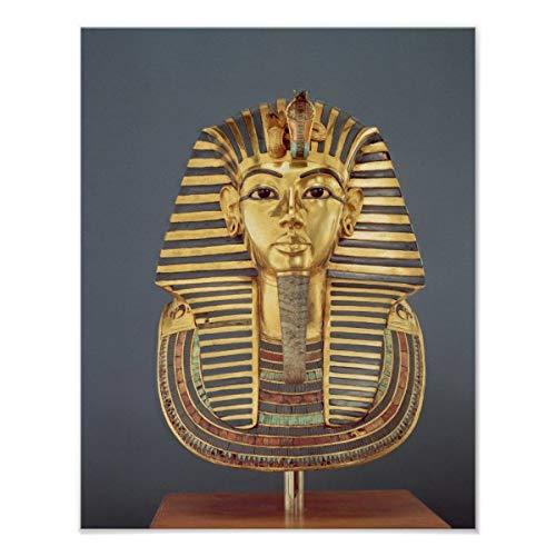 CiCiDi - Poster con maschera funeraria di Tutankhamon, decorazione da parete, 45 x 50 cm