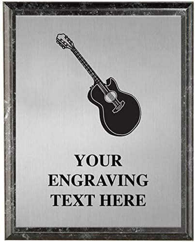 Sales for sale Crown Awards Guitar Plaques discount Tr Personalized Music Player