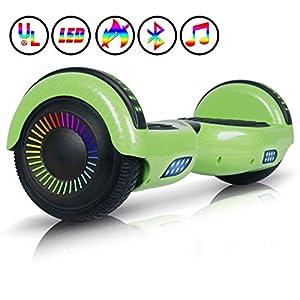 Colorway CX911 Advanced Premium Hover Scooter Board SUV 6.5- Patinete Eléctrico Auto-equilibrio con Bluetooth y APP- Ruedas Total Led - Dual Motor - EU Estándar de Seguridad Inteligente Scooter: Amazon.es: Deportes y